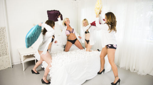 Pillow Fight Time!
